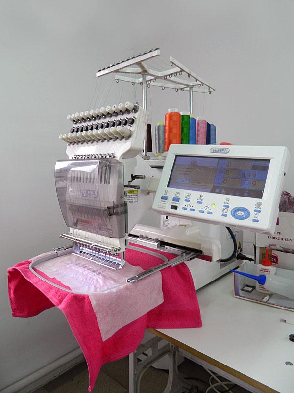 Оборудование вышивки одежде