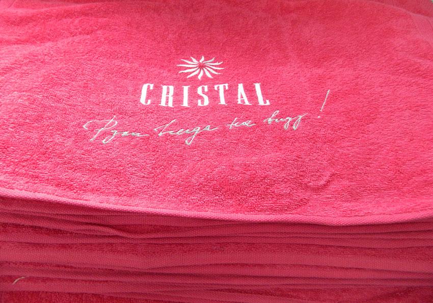 Машинная вышивка логотипов на заказ 32